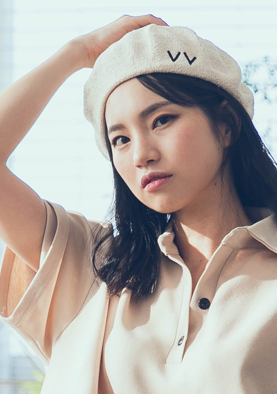 beret in summer (white)